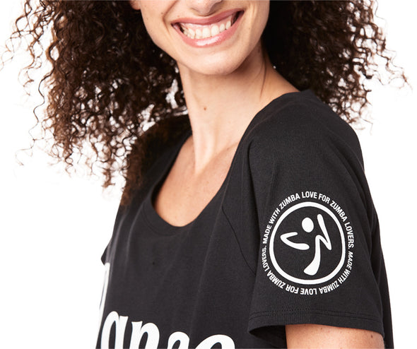 Zumba Everywhere Top - Bold Black Z1T01811