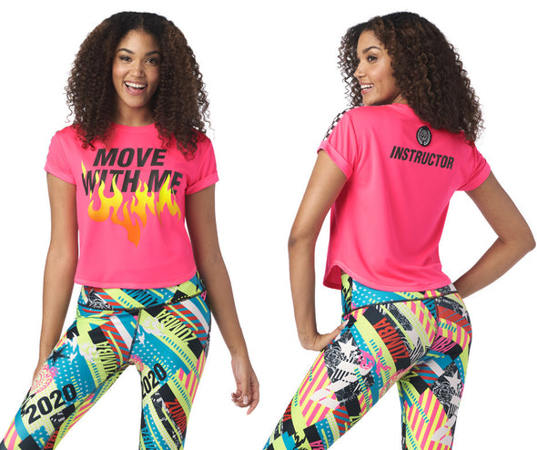 Zumba Move With Me Instructor Top - Gumball Z1T02028
