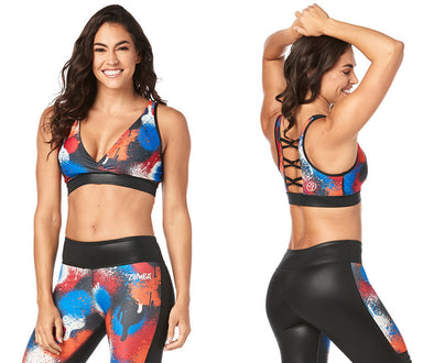 Zumba Must Move Bra - Bold Black Z1T02046