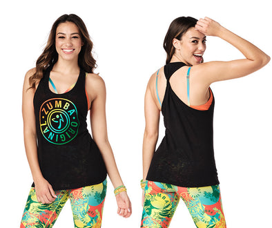 Zumba Original Twisted Back Tank - 2 Colors Z1T02059