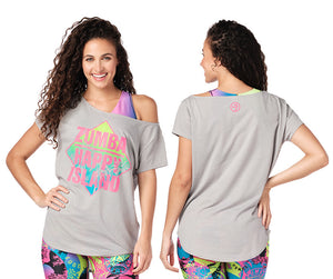 Zumba Sunshine State Of Mind Top - 2 Colors Z1T02066