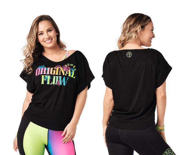 Zumba Original Flow Top - 2 Colors Z1T02067