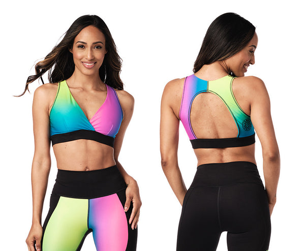 Zumba Surf Open Back Bra - 2 Colors Z1T02073