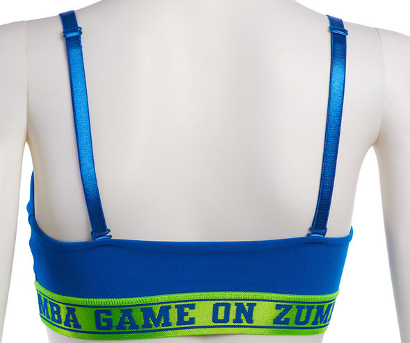 Zumba All Stars Bra - Jersey Blue Z1T02082