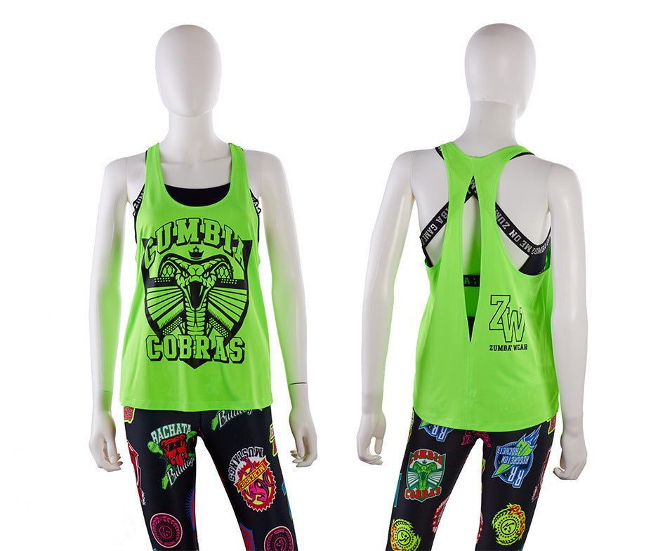 Zumba Rhythms Open Back Tank - 2 Colors Z1T02085