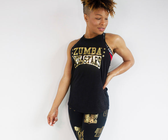 Zumba All Stars High Neck Tank Top - 2 Colors Z1T02088