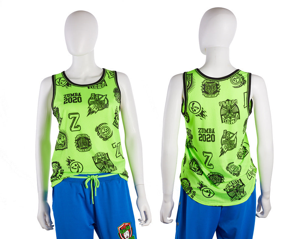 Zumba All Stars Jersey Tank Top - 2 Colors Z1T02091