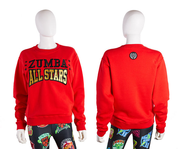 Zumba All Stars Sweatshirt - Really Red-y Z1T02098