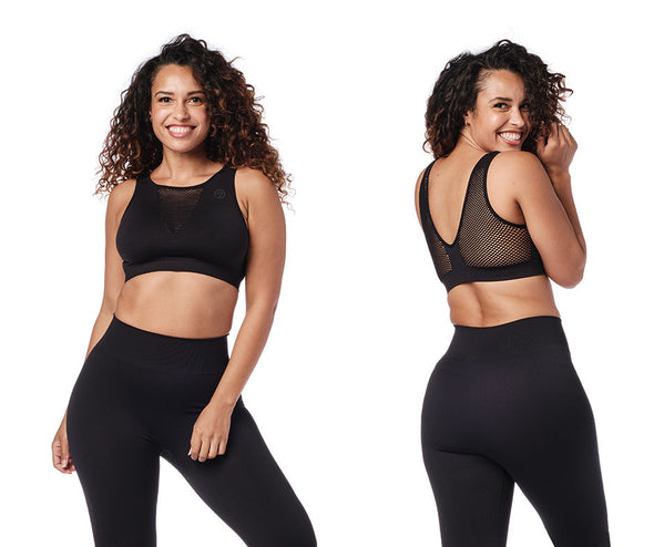Zumba Don't Mesh With My Zumba Bra - Bold Black Z1T02137