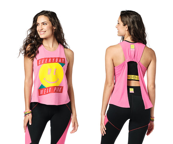 Zumba Everyday Open Back Tank Top - 2 Colors Z1T02181
