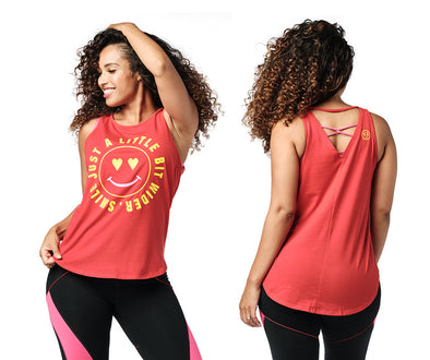 Zumba Smile Tank Top - 2 Colors Z1T02184
