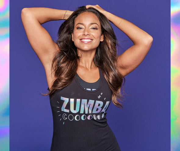 Zumba Vibes Racerback Top - 2 Colors Z1T02263