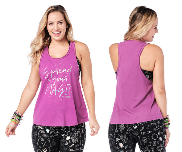 Zumba Spread Your Magic Tank - 2 Colors Z1T02267