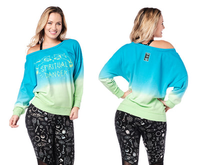 Zumba Spiritual Dancer Pullover - 2 Colors Z1T02277