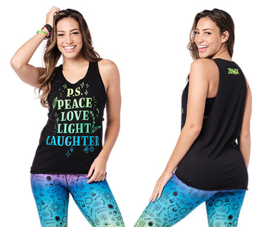 Zumba Spirit Tank Top - 2 Colors Z1T02300