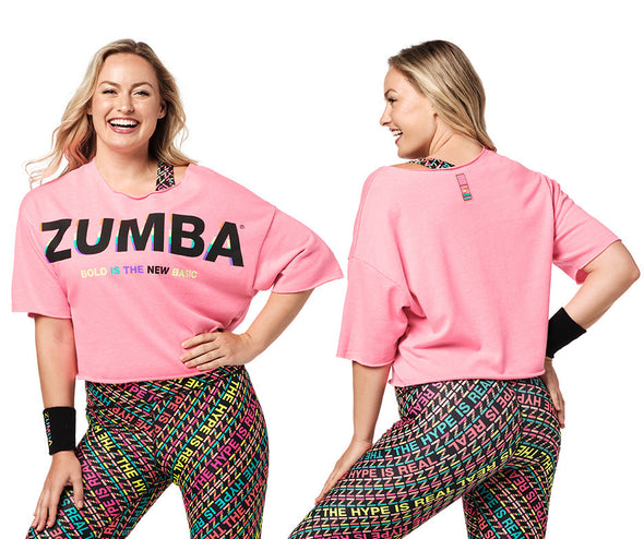Zumba Bold Is the New Basic Top - Caution / Gumball Z1T02319