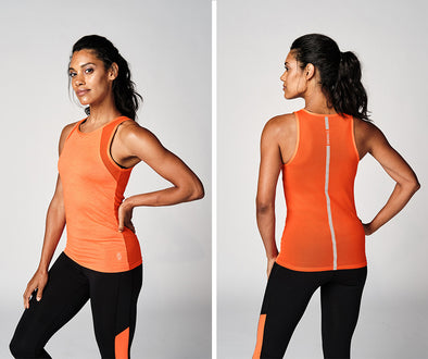 Strong Nation STRONG ID Knit Tank - Orange Z1T02365