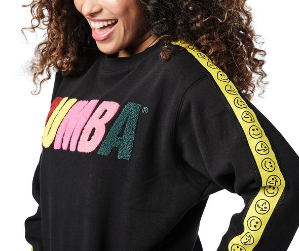 Zumba Love Sweatshirt - Bold Black Z1T02400