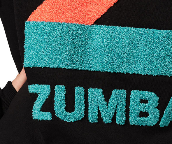 Zumba Bold Is The New Basic Pullover Hoodie - Bold Black Z1T02413