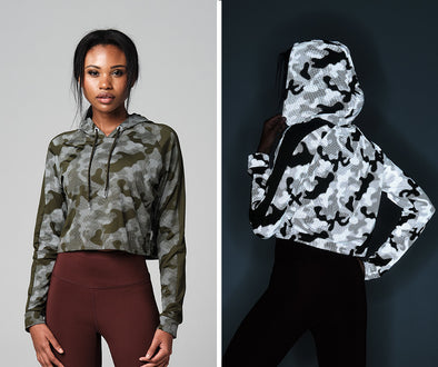 STRONG ID Drop And Give Me Camo Hoodie - Military Z1T02486