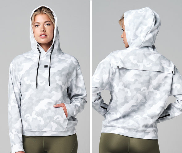 STRONG ID Essential Core Hoodie - Snow Camo Z1T02686