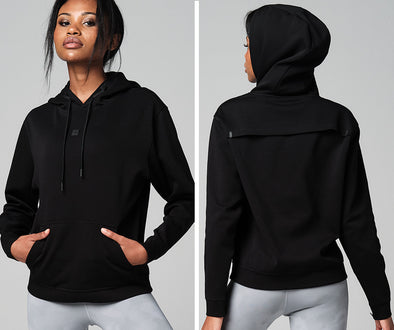 Strong ID Essential Core Hoodie - Black Z1T02687