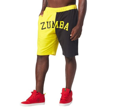 Zumba Dancehall Shorts - Mell-oh Yellow Z2B00123 XL