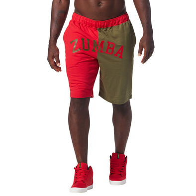 Zumba Dancehall Shorts - Well Red Z2B00123 XL