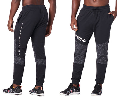 STRONG by Zumba Squat Sync Sweat Instructor Men's Joggers - Bold Black Z2B00183