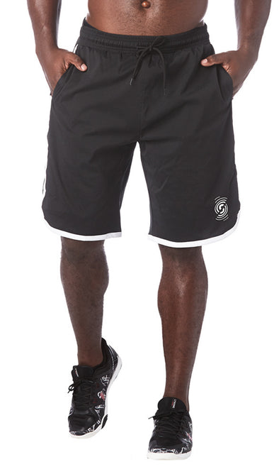 STRONG by Zumba Feel Every Beat Men's Shorts - Bold Black Z2B00184 XS