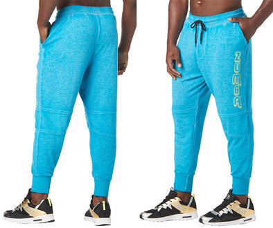 Zumba Vibes Don't Lie Jogger Sweatpants - Sea of Blue Z2B00203 XS