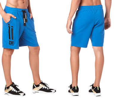 Zumba Crew Men's Shorts - True Blue Z2B00211