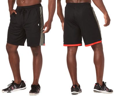 Strong By Zumba Train To The Beat Men's Shorts - Bold Black Z2B00212