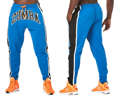 Zumba Must Move Men's Jogger Pants - True Blue Z2B00219