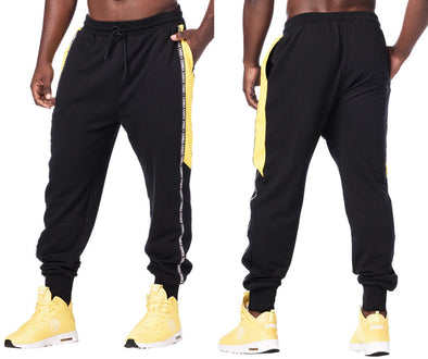 Zumba Mix It Up Jogger Sweatpants - Bold Black Z2B00221