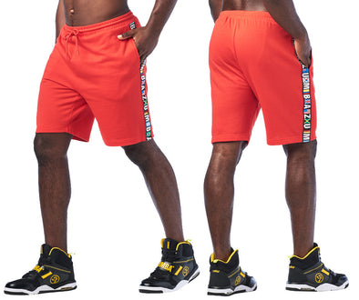 Zumba Spirit Men's Shorts - Really Red-y Z2B00223