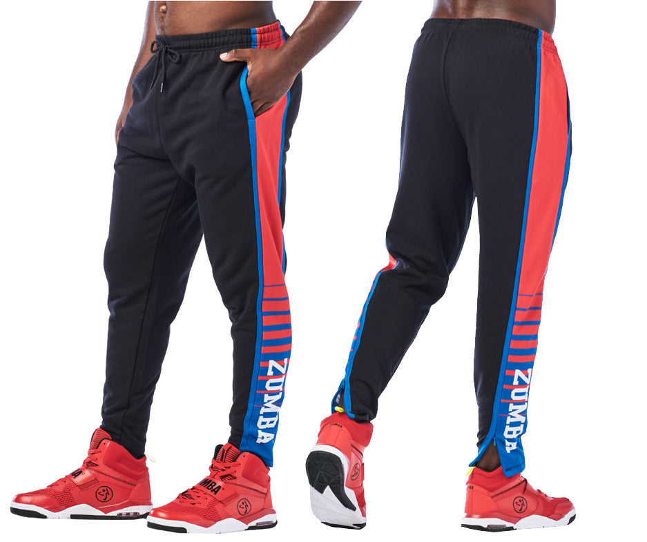 Zumba Dance League Men's Jogger Sweatpants - Bold Black Z2B00224