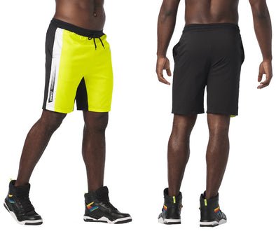 Zumba Let's Go Men's Shorts - Caution Z2B00232