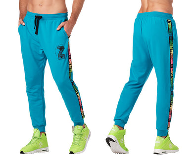 Zumba Original Flow Men's Joggers - Seaside Surf Z2B00234