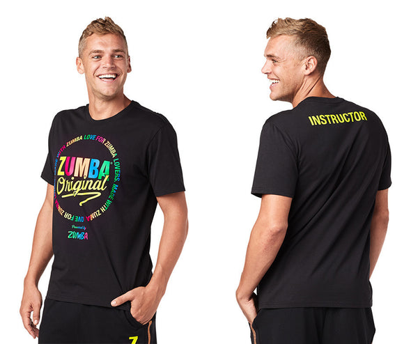 Zumba Original Instructor Tee - Bold Black Z2T00413