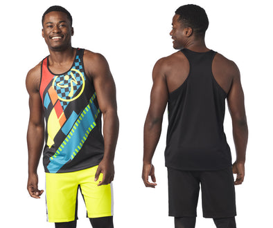 Zumba Better Faster Men's Tank - Bold Black Z2T00442