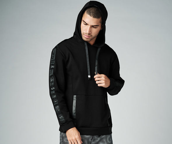 Strong Nation STRONG ID Solid Pullover Hoodie - Black Z2T00492