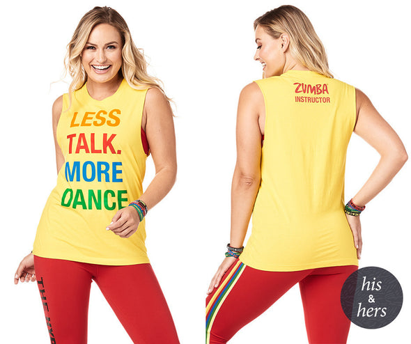 Zumba More Dance Instructor Muscle Tank - Sunrays Z3T00201