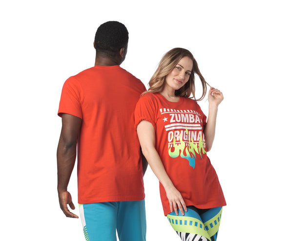 Zumba Original Tee - Really Red-y Z3T00266