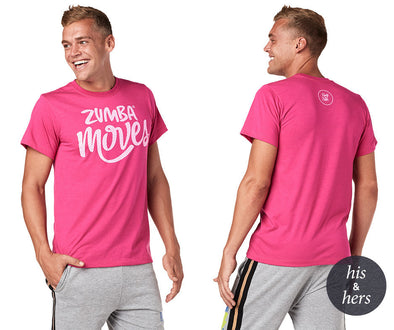 Zumba Party in Pink Moves Tee - Berry Z3T00289