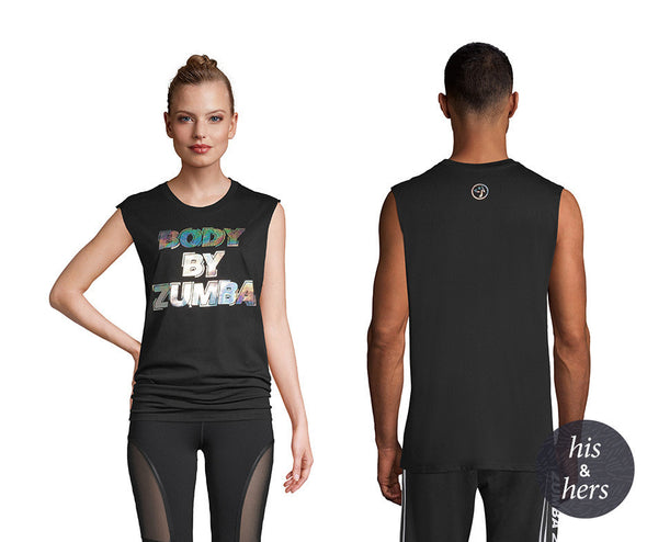 Zumba Body By Zumba Muscle Tank - Bold Black Z3T00307