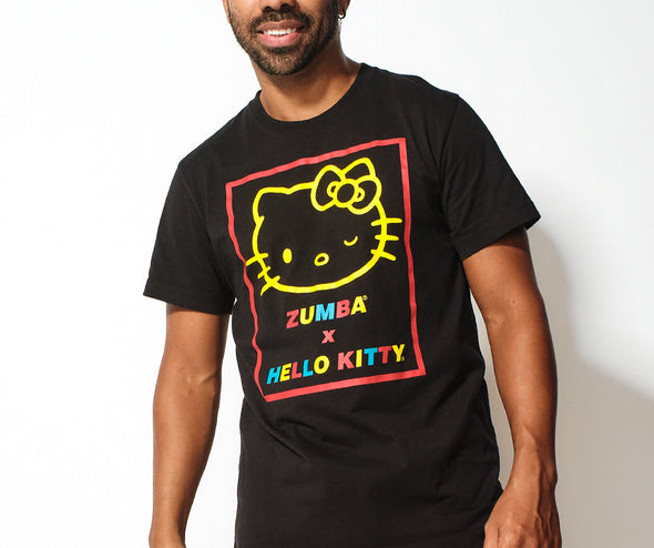 Zumba X Hello Kitty Tee - Bold Black Z3T00339