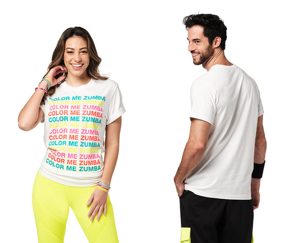 Zumba Dance In Color Tee - Wear it Out White Z3T00352