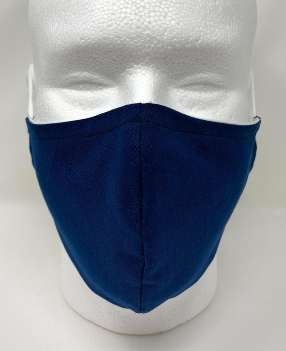 Face Mask Reusable with Nose Wire Filter Pocket US Made Fast Ship - Choose Color