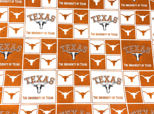 Texas Longhorns Face Mask Nose Wire Filter Pocket Pleated - University of Texas